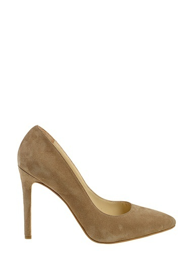 Divarese Topuklu ayakkabı Vizon